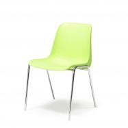 Plastová stolička Sierra, limetková