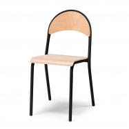 Jedálenská stolička Tampa, buk, čierna