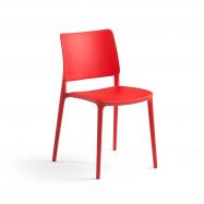 Stolička Rio, červená