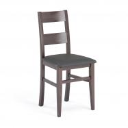 Reštauračné stoličky Nashville, syntetická koža, odtieň wenge