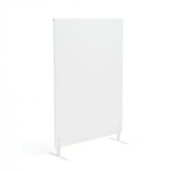Paraván Ease, vr. nôh, 1480x1000 mm, biela