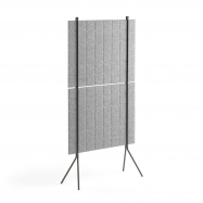 Paraván Split, 800x1500 mm, svetlo šedý