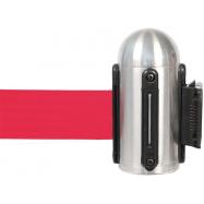 Hlavica naťahovacieho bariérového systému na stenu - červená