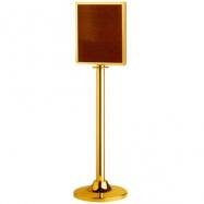 Stojanová tabuľa LG-P2-TG, lanový úchyt, prevedenie zlaté