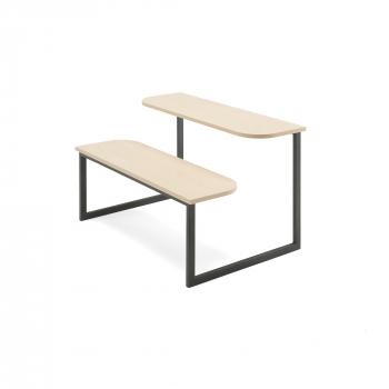 Lavica so stolom Anna, 1200x785 mm, breza