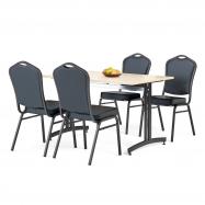 Jedálenský zostava: stôl 1200x800 mm
