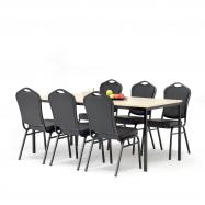Jedálenský zostava: stôl 1800x800 mm