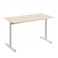 Stôl Tilo, 1200x800x720 mm, strieborná, breza