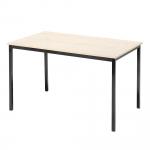 Jídelní stůl s klasickým vzhledem vhodný do každé podnikové jídelny. Stůl má pevnou bytelnou nosnou konstrukci a odolnou stolní desku z laminované dřevotřísky.   Odolná laminovaná deska Pevná konstrukce Klasický vzhled