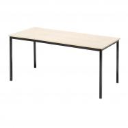 Jedálenský stôl Jamie, 1800x800 mm, breza, čierna