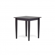 Stôl Sofia, 700x700 mm, wenge