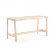 Jedálenský stôl Stabilis, 1800x740 mm, výška 900 mm, masív, breza