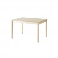 Jedálenský stôl Europa, 1200x800x720 mm, HPL, breza