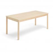 Jedálenský stôl Europa, 1800x800x720 mm, HPL, breza