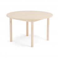 Jedálenský stôl Europa, Ø 1200x720 mm, HPL, breza