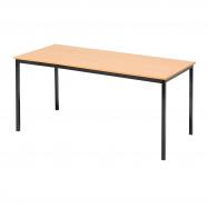 Jedálenský stôl Jamie, 1800x800 mm, buk, čierna