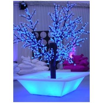 Svietiaci kvetináč Bench Pot LIGHT