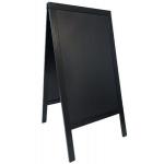 Sandwich (A-tabuľa) 68x120 cm., Čierna