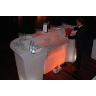 Svietiaci barový pult JUMBO rovný diel