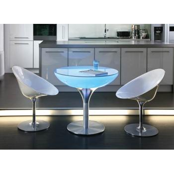 Svietiaci kaviarenský stôl Lounge 75