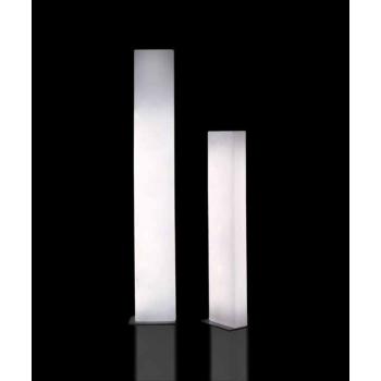Dizajnová stojaca lampa BRICK