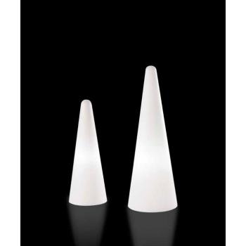 Dizajnová stojaca lampa CONO