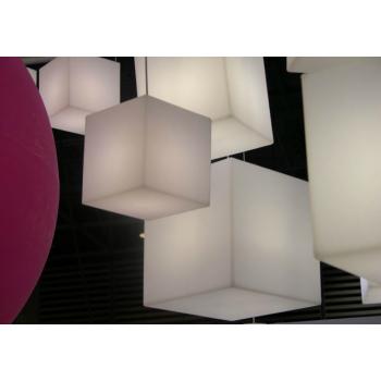 Dizajnové Vonkajší osvetlenie CUBO Hanging
