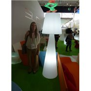 Dizajnová stojaca lampa PIVOT ALI BABA
