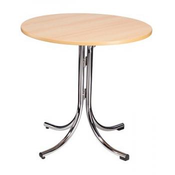 Skladací kaviarenský stôl KLIK-KLAK LOW ROUND, Ø 85 cm