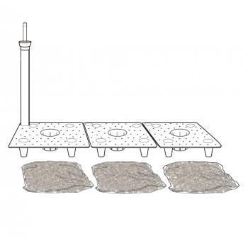 Rezervoár vody pre kvetináče