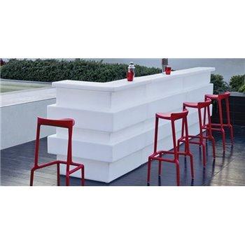 Svietiaci barový pult Tetris - rohový diel