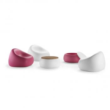 Dizajnový konferenčný stolík T Ball