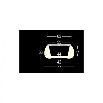 Svietiaci dizajnový stolík T BALL LIGHT