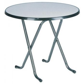 Skladací kaviarenský stôl FAVOURITE LOW ROUND, Ø 85 cm