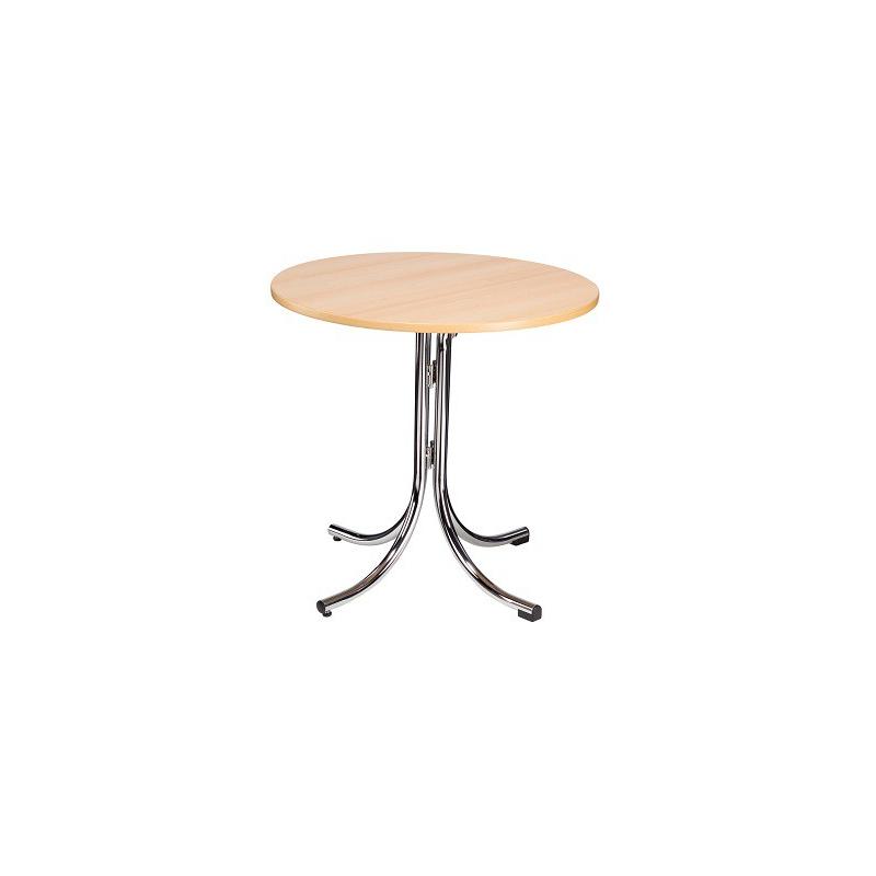 Skladací kaviarenský stôl KLIK-KLAK LOW ROUND, Ø 70 cm