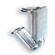 Rautové spony na dosky s hrúbkou 15 mm, 25ks