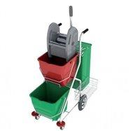 Upratovací vozík PRAKTIK 9001AP60 / D