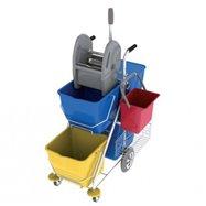 Upratovací vozík PRAKTIK 9001AP80/E