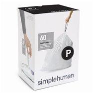 Sáčky do odpadkového koše 50-60 L, Simplehuman typ P zatahovací, 3 x 20 ks ( 60 sáčků )