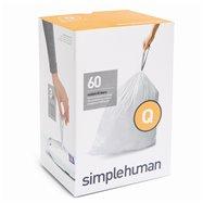 Sáčky do odpadkového koše 50-65 L, Simplehuman typ Q zatahovací, 3 x 20 ks ( 60 sáčků )