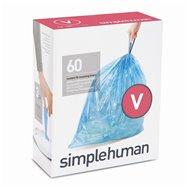 Sáčky do odpadkového koše 16-18 L, Simplehuman typ V zatahovací, 3 x 20 ks ( 60 sáčků ) BP