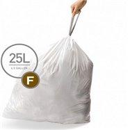 Sáčky do odpadkového koše 25 L, Simplehuman typ F, zatahovací, 20 ks v balení