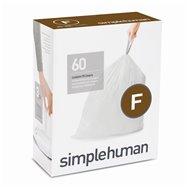 Sáčky do odpadkového koše 25 L, Simplehuman typ F, zatahovací, 3 x 20 ks ( 60 sáčků )