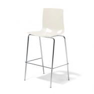 Barová stolička Phoenix, biela