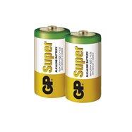 Alkalická batéria GP Super LR14 (C), blister