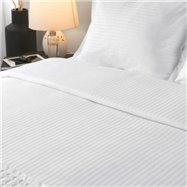 Obliečky na vankúš 70 x 90 cm, 100% bavlna, 130 g / m2, 8 mm prúžok