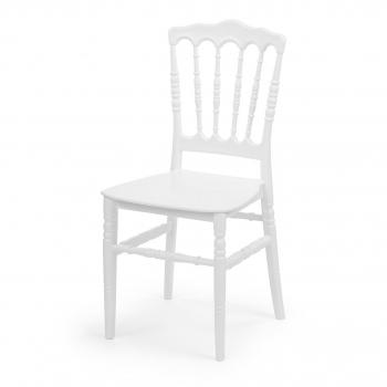 Banketová stolička Napoleon, biela