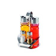 Set dochucovací nerez olej+ocet+sůl+pepř D-00