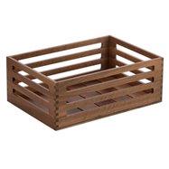 Box Mercato 43x30x16 Ořech,stohovatelný