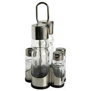 Menážka 5 dílná olej,ocet,sůl,pepř,párát